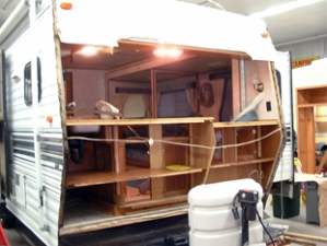 Owatonna RV Services rotten wood replacement