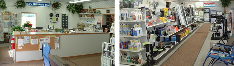 Owatonna RV Services Retail Store