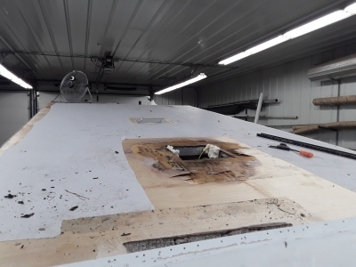 Owatonna RV Services roof replacement