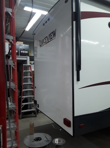 Owatonna RV Services repairs rotten wood damage