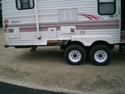 Owatonna RV Services tire blow out repair work