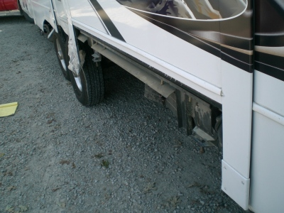 Owatonna RV Services does repairs on tire blowouts